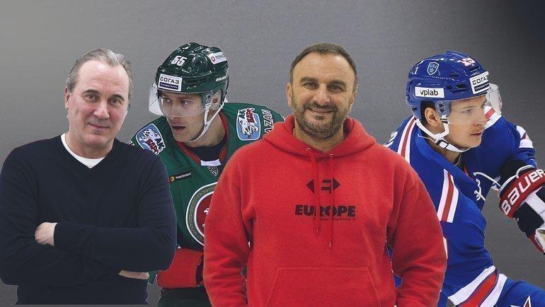 Юрий Николаев, Владимир А.Ткачев, Шуми Бабаев, Владимир Э.Ткачев.