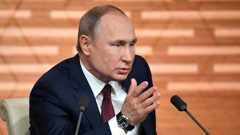 19декабря. Москва. Владимир Путин. Фото AFP
