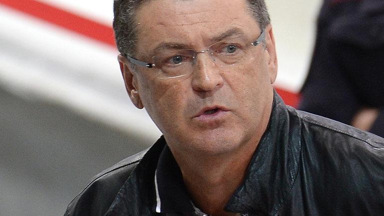 Сергей Исаков. Фото Владимир Беззубов, photo.khl.ru