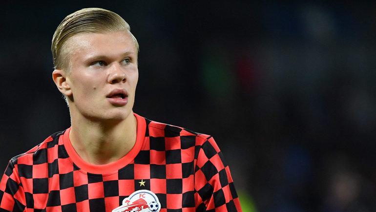 Эрлинг Холанн может перейти в «Манчестер Юнайтед»? Фото AFP