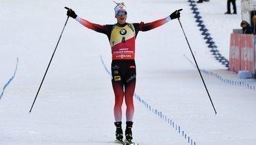 Беснова первый, россияне— без лыж иподиума. Как прошла мужская гонка преследования вАнси