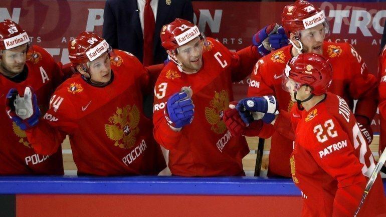 Никита Зайцев (№22). Фото Reuters