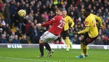 «Манчестер Юнайтед» проиграл последней команде АПЛ «Уотфорду», ДеХеа допустил ошибку