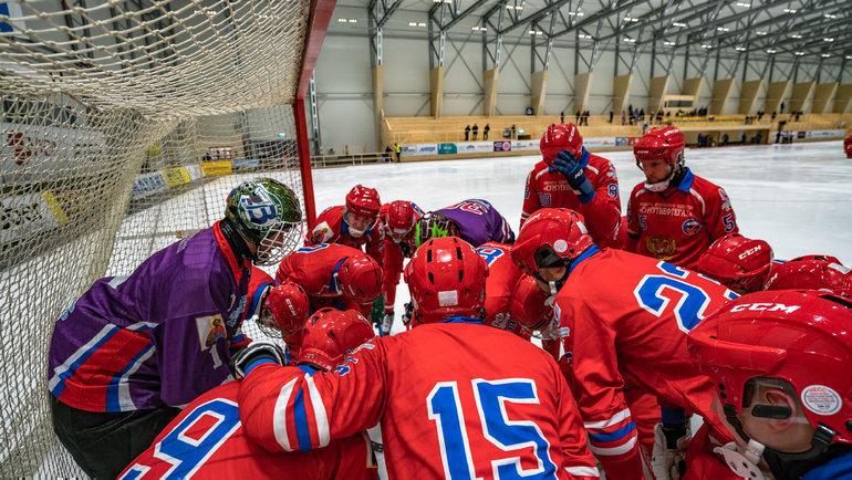 На дебютном турнире Павла Франца обновленная сборная России обыграла и шведов, и финнов. Фото Роман Митрофанов