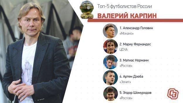 """Выбор Валерия Карпина. Фото """"СЭ"""""""