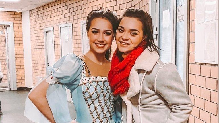 Алина Загитова (слева) иАделина Сотникова. Фото instagram.com