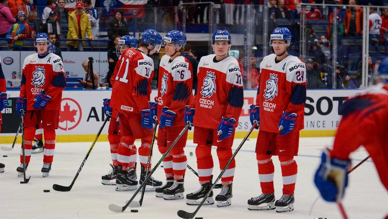 Молодежная сборная Чехии. Фото Официальный Twitter сборной Чехии