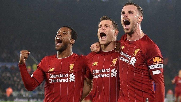 «Ливерпуль» разгромил «Лестер». Фото AFP