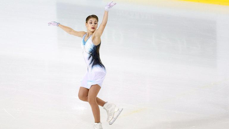 Алена Косторная. Фото Reuters