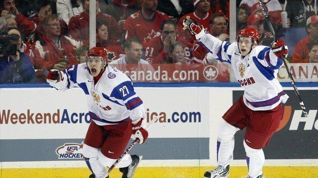 Артемий Панарин и Владимир Тарсенко. Фото Reuters