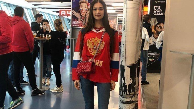 Анастасия Шубская, супруга форварда «Вашингтона» Александра Овечкина. Фото Instagram