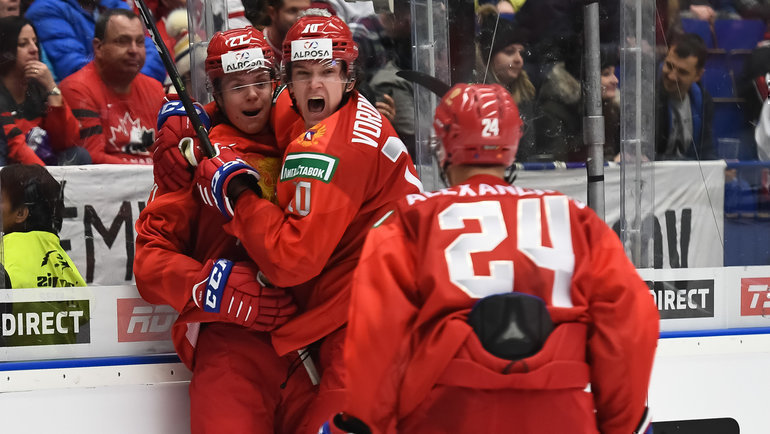 28декабря. Острава. Россия— Канада— 6:0. Фото iihf.com