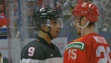 Удар головой. Канадца дисквалифицировали забодание вадрес российского хоккеиста