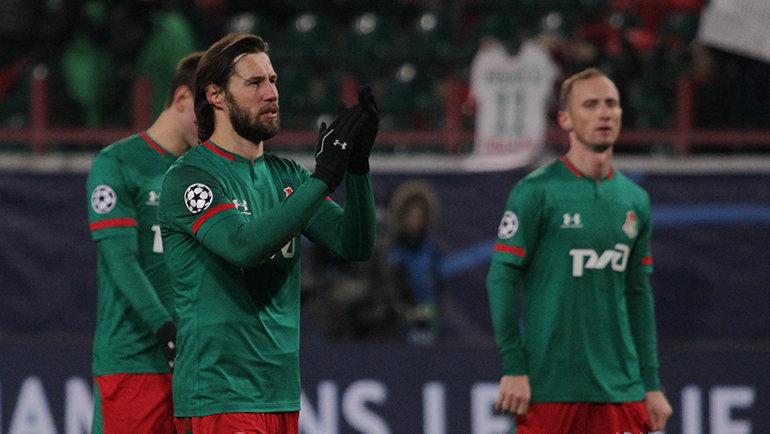 Гжегож Крыховяк (слева) иВладислав Игнатьев. Фото ФК «Локомотив»