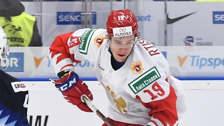 Никита Ртищев. Фото IIHF