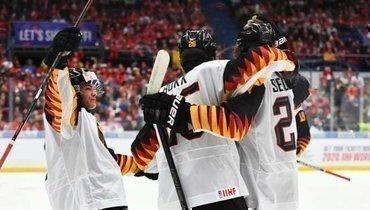 Молодежная сборная Германии.