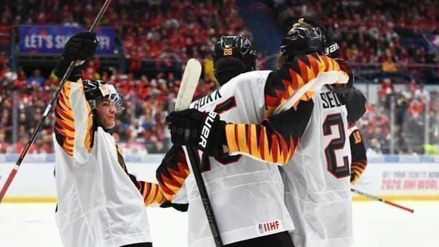 Молодежная сборная Германии вшаге отбольшой сенсации. Россия должна быть готова еенедопустить. Фото IIHF