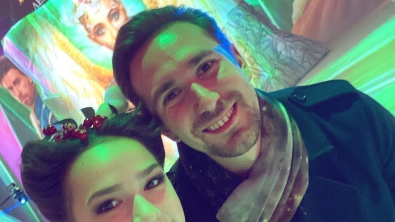 Алина Загитова иДаниил Глейхенгауз. Фото Instagram