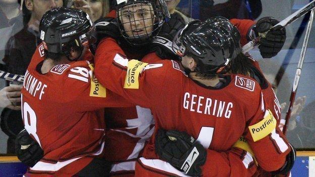 2января 2010 года Швейцария одержала сенсационную победу над Россией. Фото Reuters