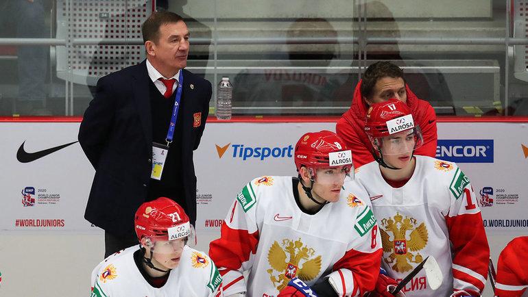 Сборная России сыграет против Швеции вполуфинале МЧМ-2020. Фото ФХР