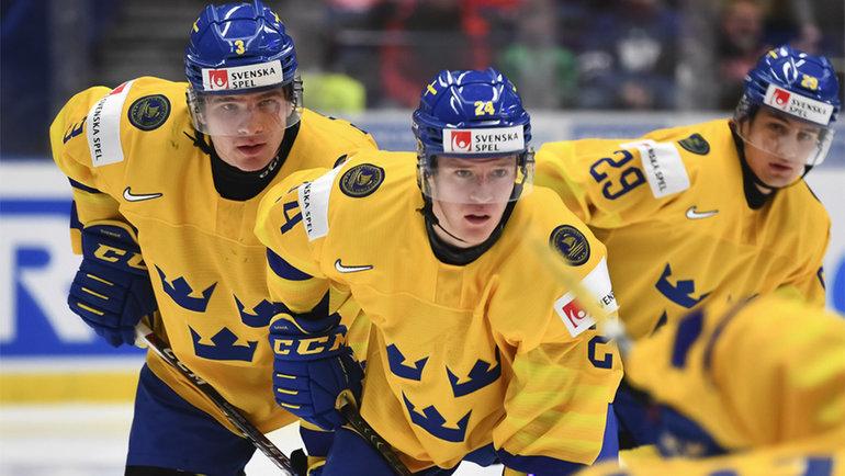 Швеция пока непроиграла ниодного матча наМЧМ-2020. Фото ИИХФ