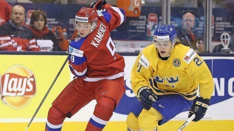 4января 2015 года. Торонто. Швеция— Россия— 1:4. Фото AFP