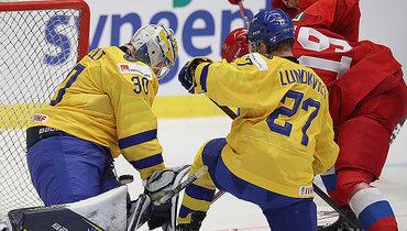 Швеция— Россия— 4:5 ОТ.