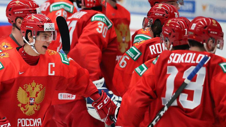 финал хоккея чемпионат мира россия канада