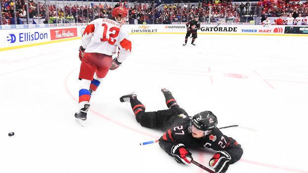 5января. Острава. Канада U20— Россия U20— 4:3. Засудилили российскую команду? Фото IIHF