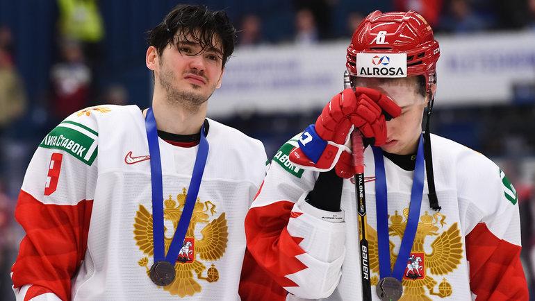 5января. Острава. Канада U20— Россия U20— 4:3. Фото IIHF