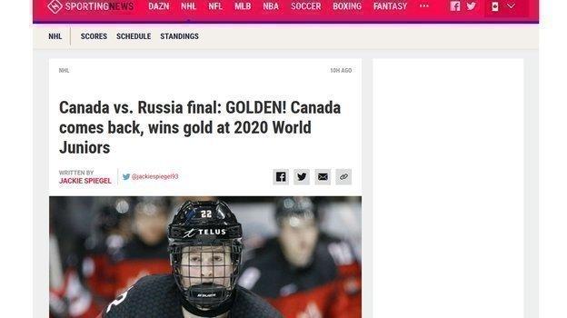 Обзор канадских СМИ.