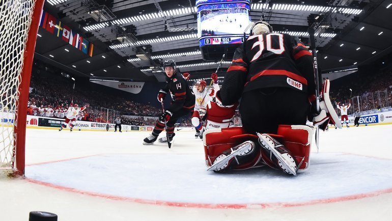 5января. Острава. Канада U20— Россия U20— 4:3. Фото iihf.com