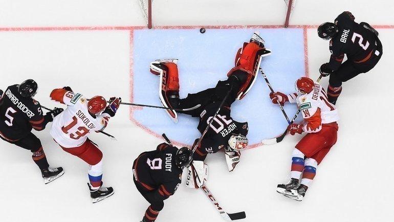 5января. Острава. Канада U20— Россия U20— 4:3. Фото Фото iihf.com