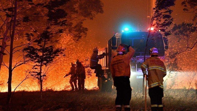 Пожары вАвстралии бушуют ссентября. Фото AFP