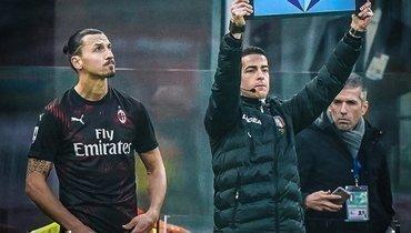 «Милан» сыграл вничью с «Сампдорией» впервом матче Ибрагимовича