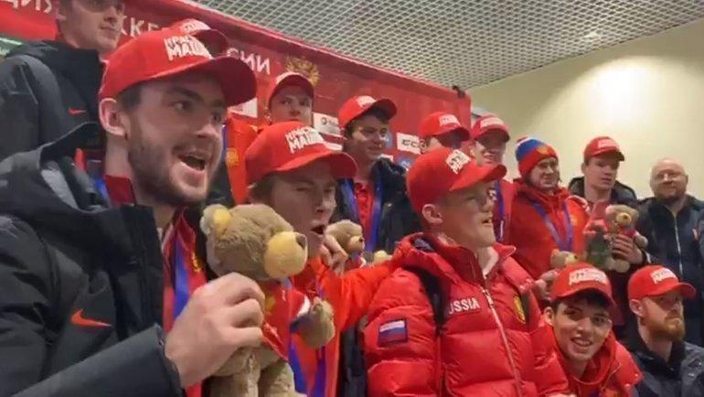 Молодежная сборная России. Фото Алена Гребенькова