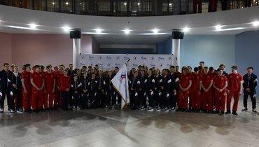 Юношеская олимпийская сборная России. Фото ОКР