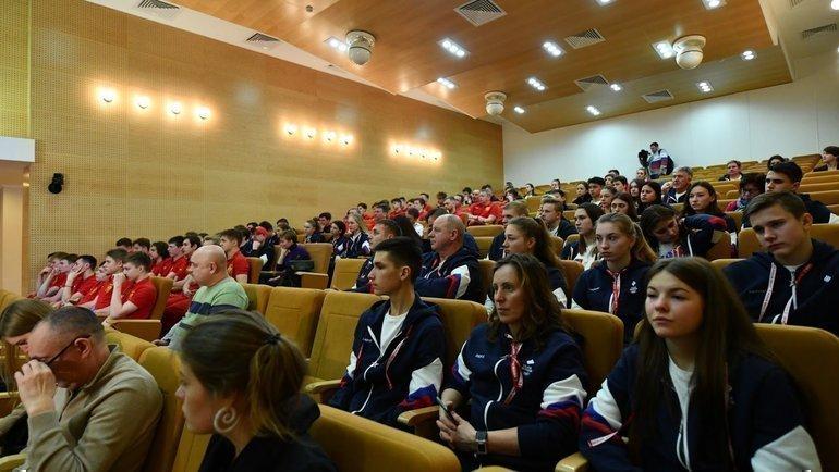 6января. Новогорск. Антидопинговый семинар. Фото ОКР