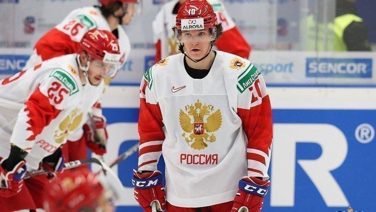 Дмитрий Воронков (справа). Фото ФХР