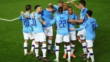 «Манчестер Сити» впервом полуфинальном матче 1/2 Кубка лиги обыграл «Манчестер Юнайтед» -3:1.