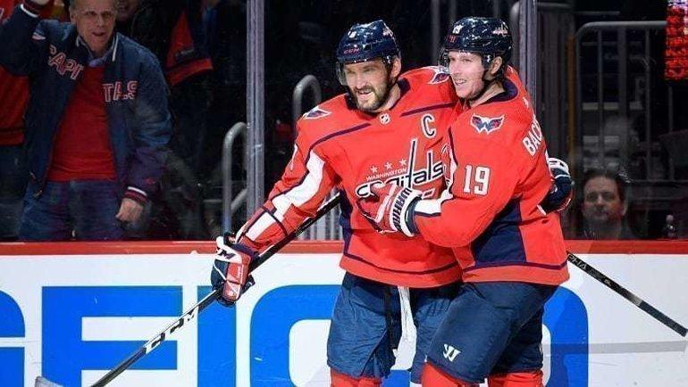 Александр Овечкин вышел на11-е место поголам вистории НХЛ. Фото CBC