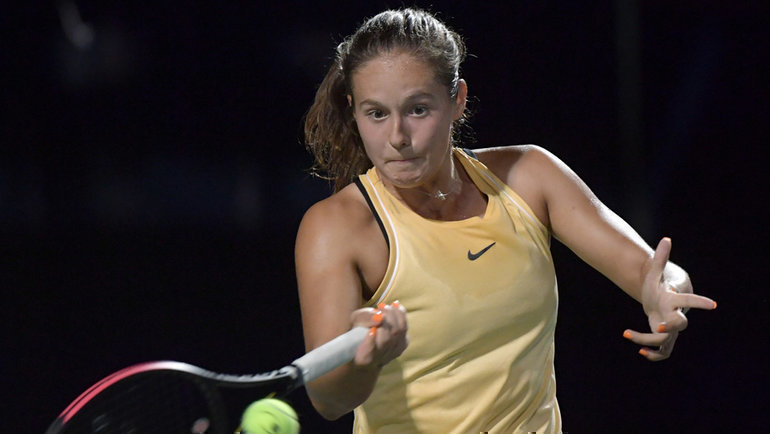 Дарья Касаткина. Фото USA Today Sports