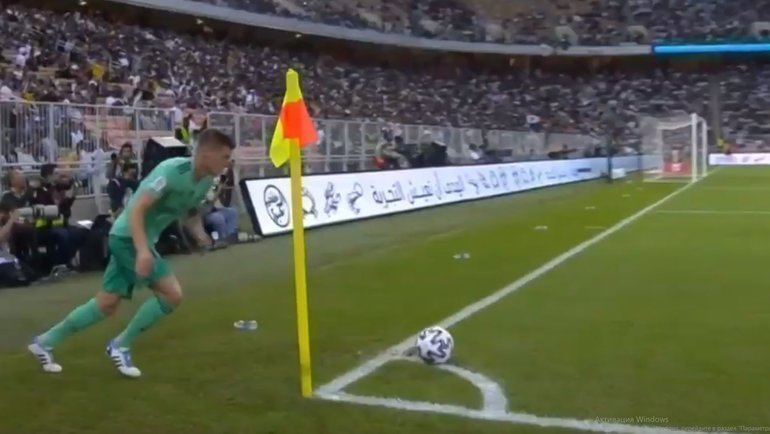 Футбол испании угловые