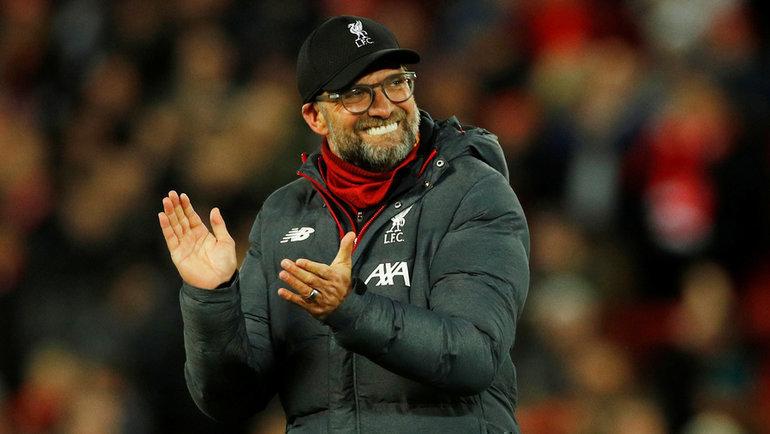 Главный тренер «Ливерпуля» Юрген Клопп. Фото Reuters