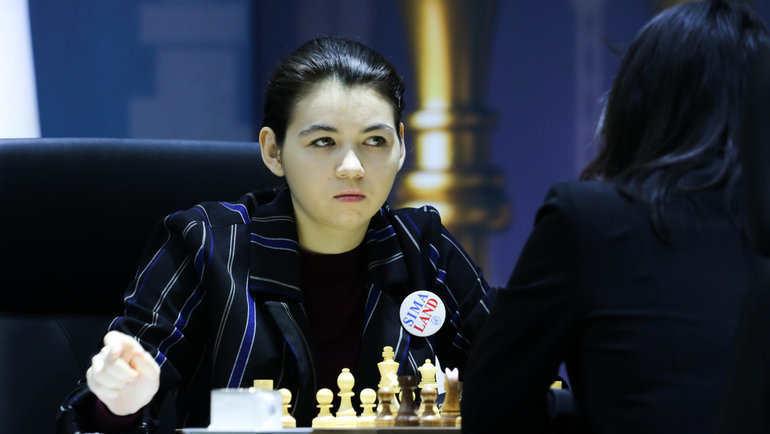 Александра Горячкина. Фото Этери Кублашвили