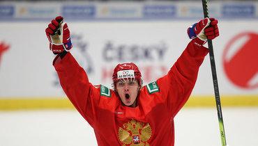 Защитник молодежной сборной России Егор Замула.