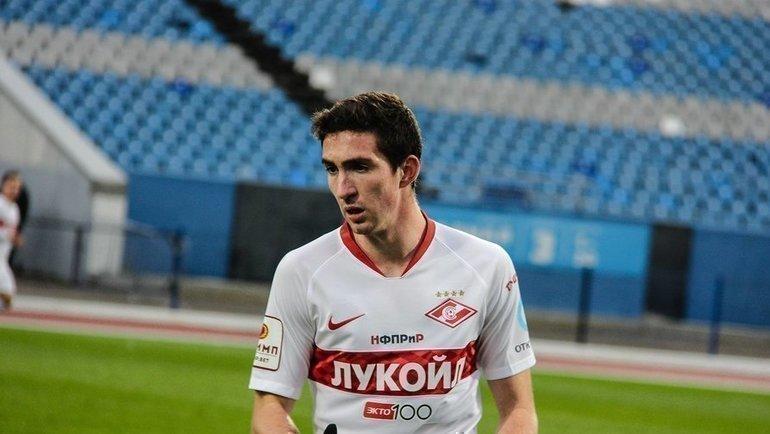 Солтмурад Бакаев. Фото ФК «Шинник»