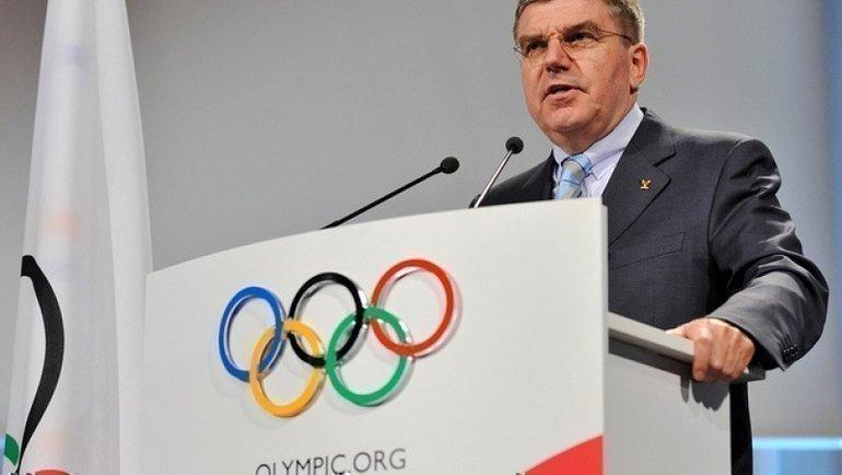 Томас Бах. Фото Olympic.org