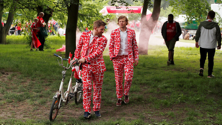 Велосипед— возможно, главный способ передвижения вКопенгагене. Фото AFP