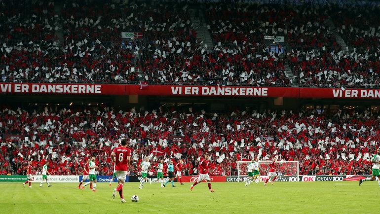 Стадион «Паркен» вКопенгагене. Фото Reuters